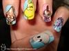 Moomin nail art