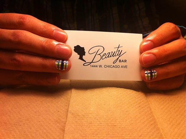 Men get manicures too!