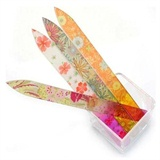 4 Crystal Glass Nail Files