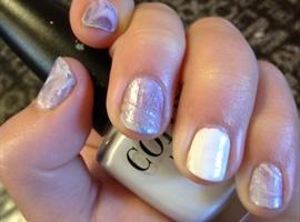 nail art: Milky Way