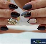 Matte Bling Mix Nails