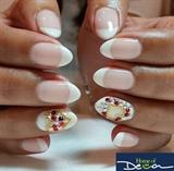 Valentine's French Nails