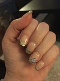 Mosaic Hard Gels On Natural Nails