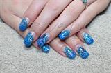 Turquoise overlay