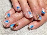 Natural nail overlay