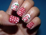 Dots and Simple Flower
