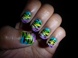 Colorful Zebra print (part2)