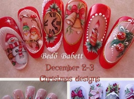 nail art: Christmas Class
