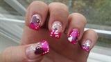 pink french valentine
