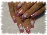 Glitter & 3D flower
