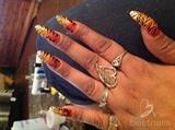 Tiger claw stiletto