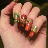 Wrapping paper nails