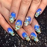 Mermaid Seashell Nails