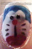 Trying to do Doraemon nail!