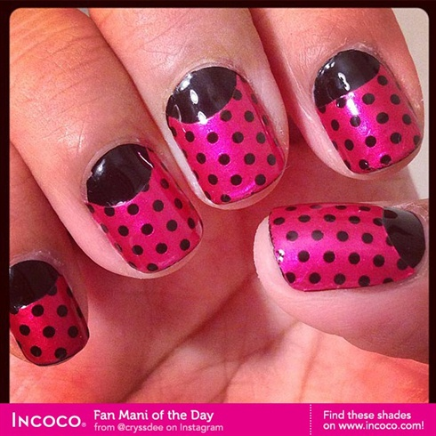 Pretty in Pink and Midnight by Incoco