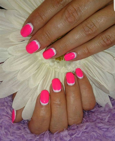 Gel polish nails