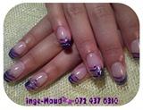 purple stripe french
