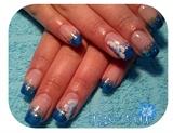 Blue shimmer