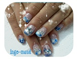 Mix designs in blue