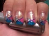 X 3 color nails