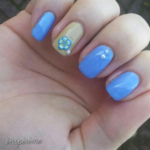 Blue and pretty