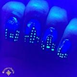 City Nails Neon Black Light