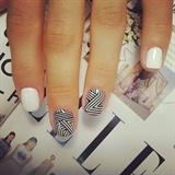 nail wraps, gel polish