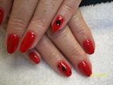 """Casino"" nail art"