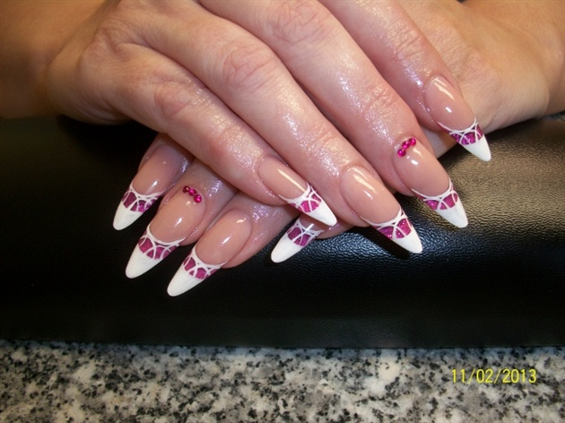 Stiletto nails-Inspired by other artist
