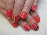 CND Shellac and Butterfly