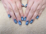 Freehand nail art (from 2014)