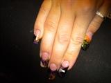 Halloween glow in the dark nails