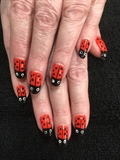Spring Lady Bugs