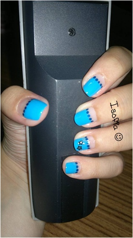 Blue&dots
