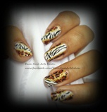 Zebra and Cheetah Print