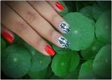 Bengali New Year Nails 2014