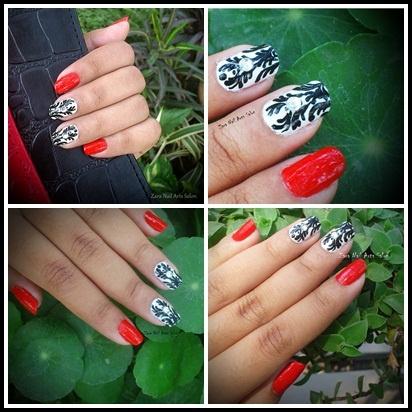 Bengali New Year Nails Mash-Up
