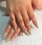 Gold Gel Full Set
