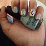 polar bear nails!