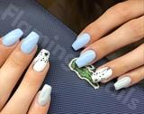 Blanc Et Blue