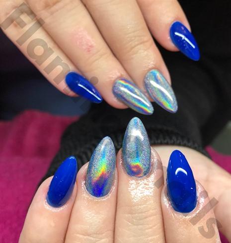 Blue/holo