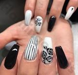 Rose/noir /blanc