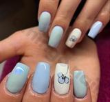 Blue/simple