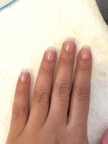 natural pink nails💅  nail art gallery
