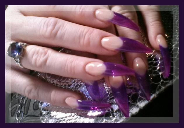 Pink~Purple Stiletto