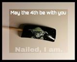 Day 4-Nail Art Challenge\May: StarWars
