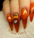 Pumpkin Bling
