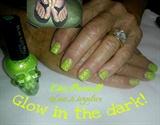 glow splatter polish