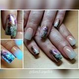 Glow nails/onestroke