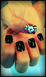 Cross Nails:)